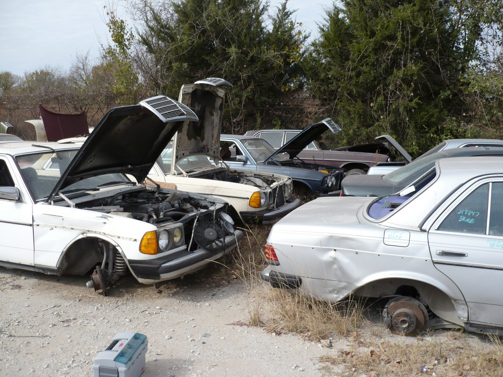 Over the pond and into… a Dallas junkyard. | Ran When Parked