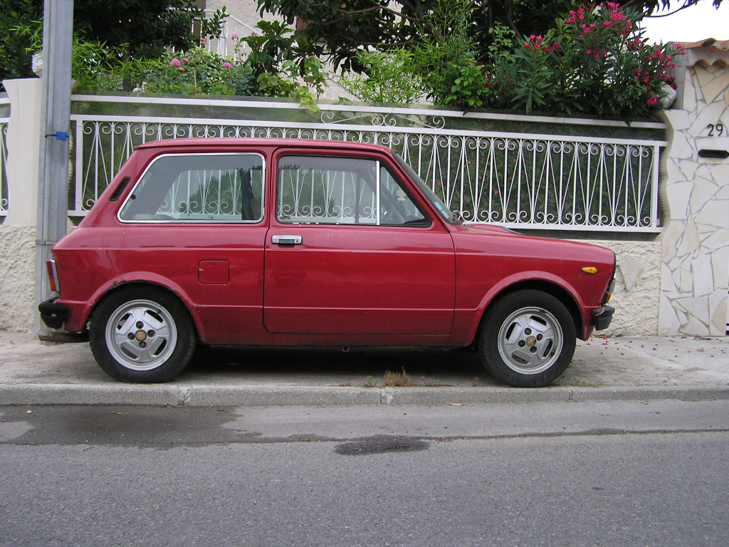 Autobianchi A112 Abarth Ran When Parked