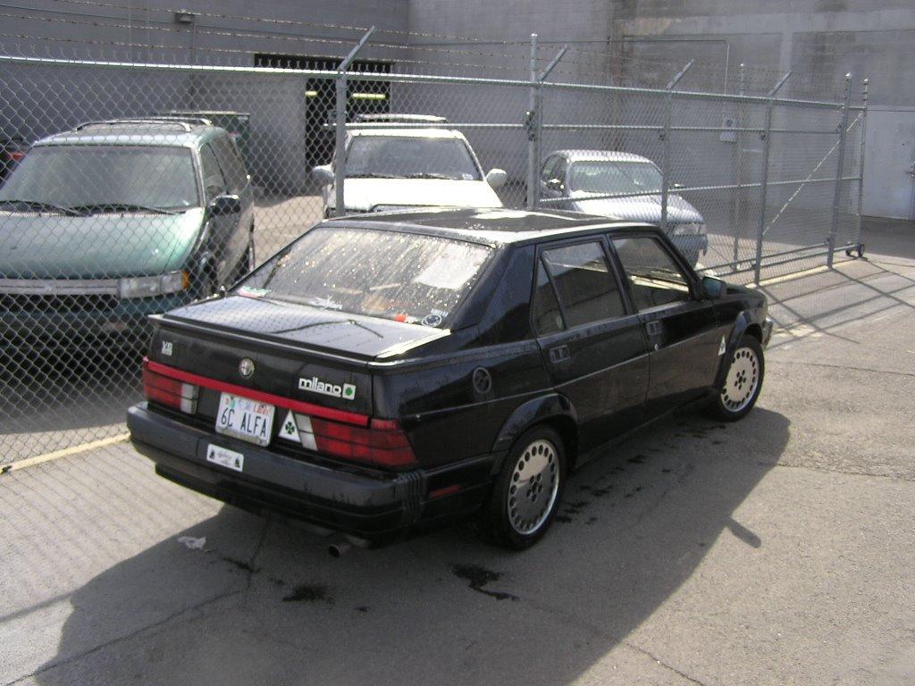 road test: 1988 alfa romeo milano verde | ran when parked