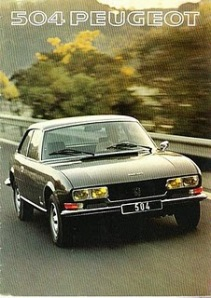 Peugeot 504 Coupe Ran When Parked