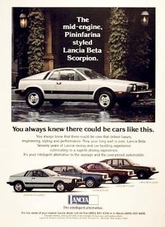 Rwp Scorpion on 1976 Lancia Scorpion Engine