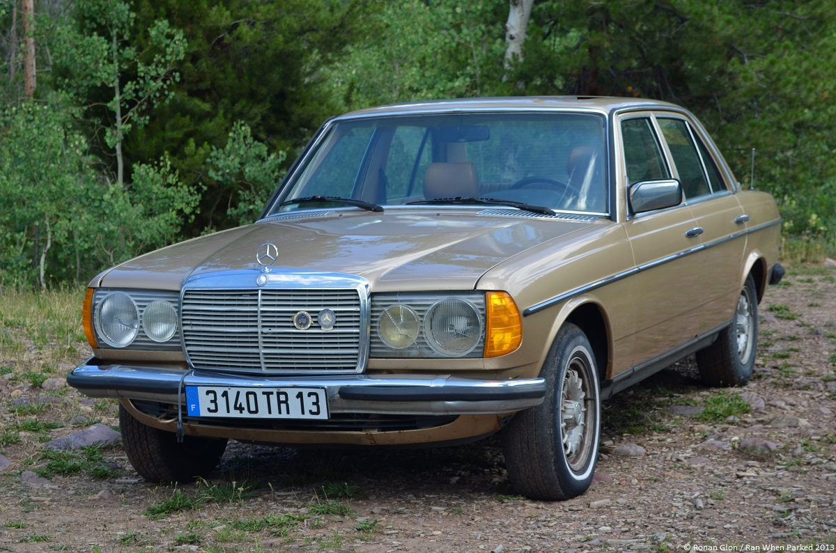 1984 mercedes benz 300d w123 ran when parked