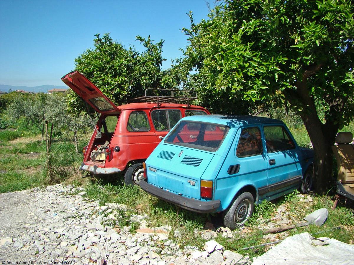 Fiat 126 | ghosts of better days | Pinterest | Fiat 126, Car barn ...