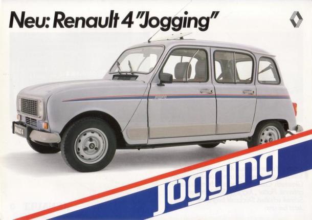 R 4 jogging