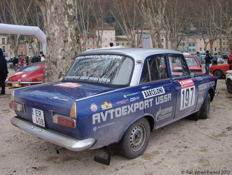The 2012 monte carlo historique rally ran when parked for Garage renault guiardel reims