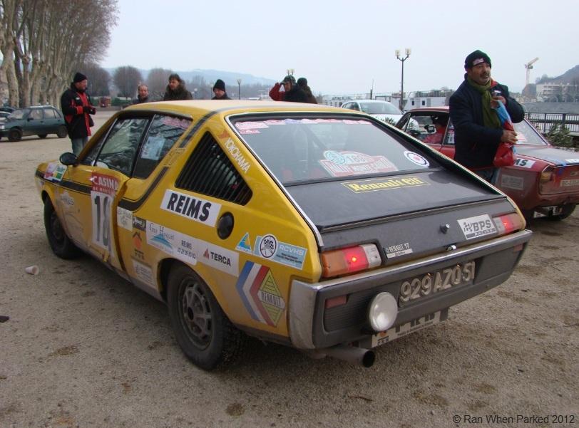 The 2012 monte carlo historique rally ran when parked for Garage mini monaco