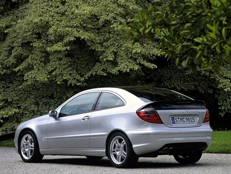 mercedes c30 cdi amg 5 ran when parked
