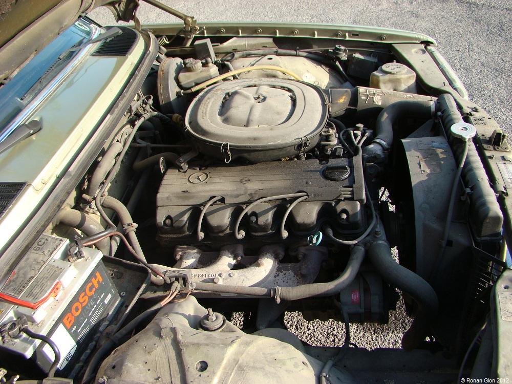 1981 mercedes benz 230e engine 2 ran when parked for Mercedes benz sprinter engine