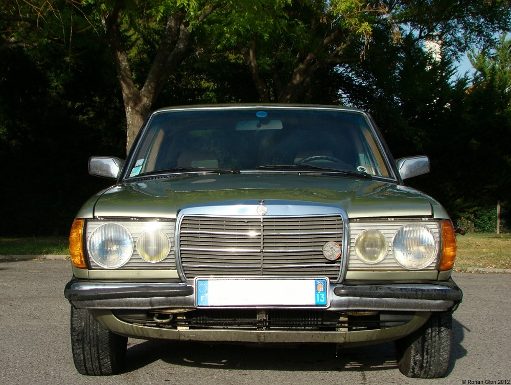 1981 mercedes benz 230e front ran when parked for Mercedes benz 230e