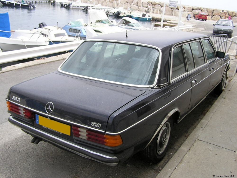 Mercedes 250 limousine ran when parked for Mercedes benz limousine price
