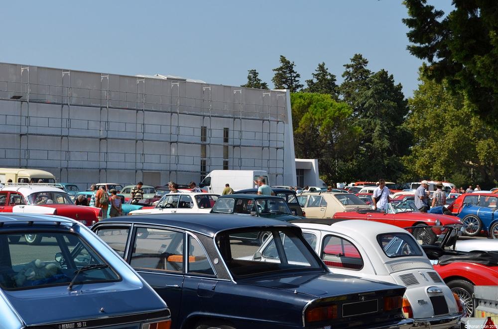 the 20th annual avignon auto moto retro show ran when parked