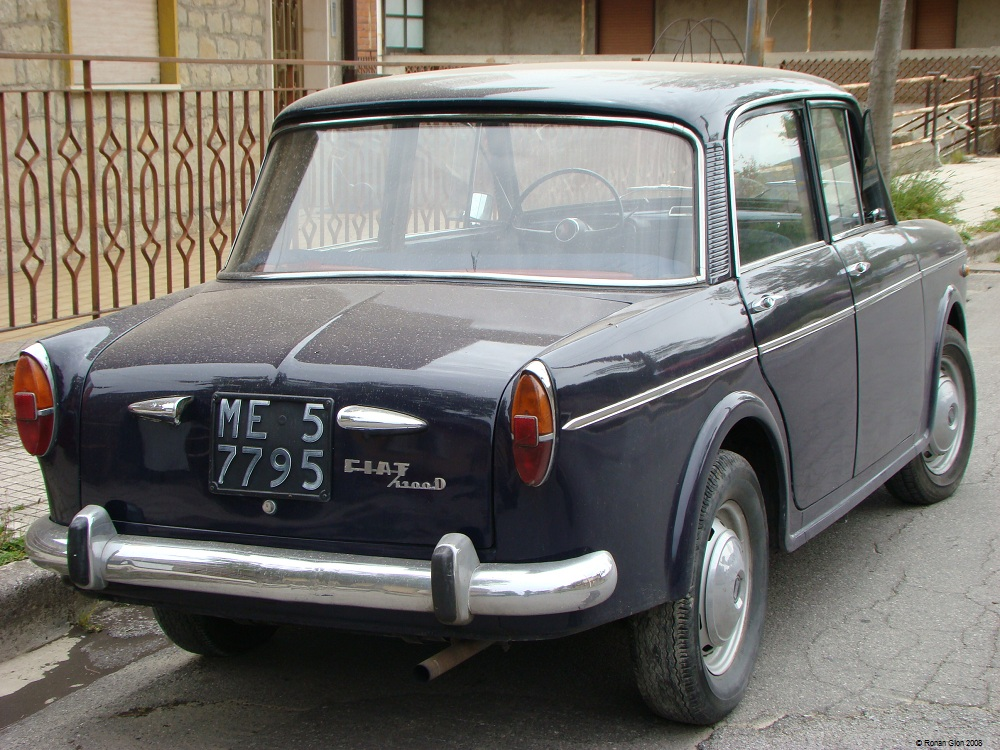 Driven Daily Fiat 1100 D Ran When Parked