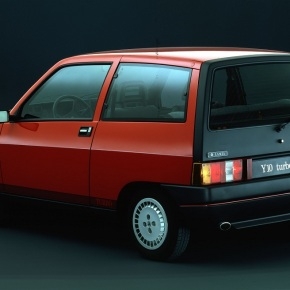 A look at Lancia's short-lived Y10 Turbo