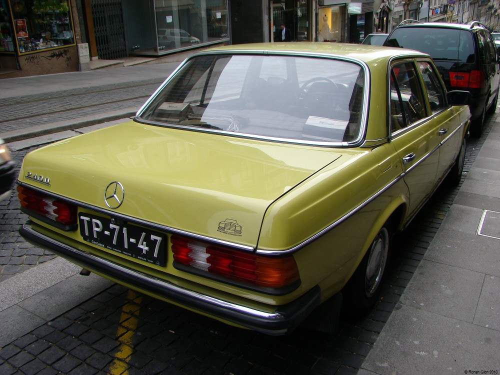 Driven daily mercedes benz 240d ran when parked for Mercedes benz 240 d