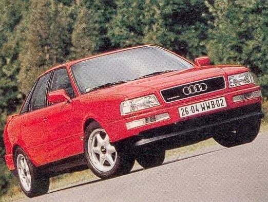 audi 80 quattro competition 1 ran when parked. Black Bedroom Furniture Sets. Home Design Ideas