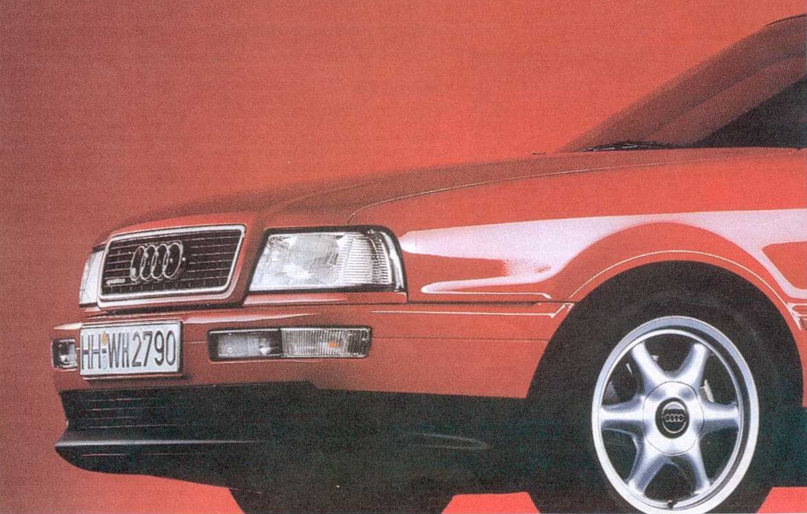 sunday classic audi 80 quattro competition ran when parked. Black Bedroom Furniture Sets. Home Design Ideas