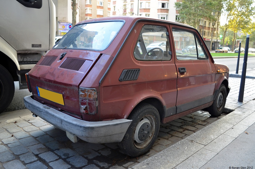 Driven daily fiat 126 ran when parked for Garage fiat paris