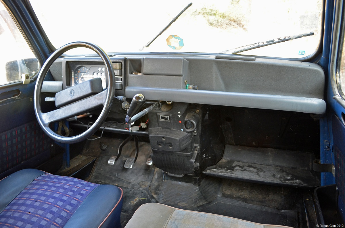 1985 renault 4 14 ran when parked for Interieur 4l