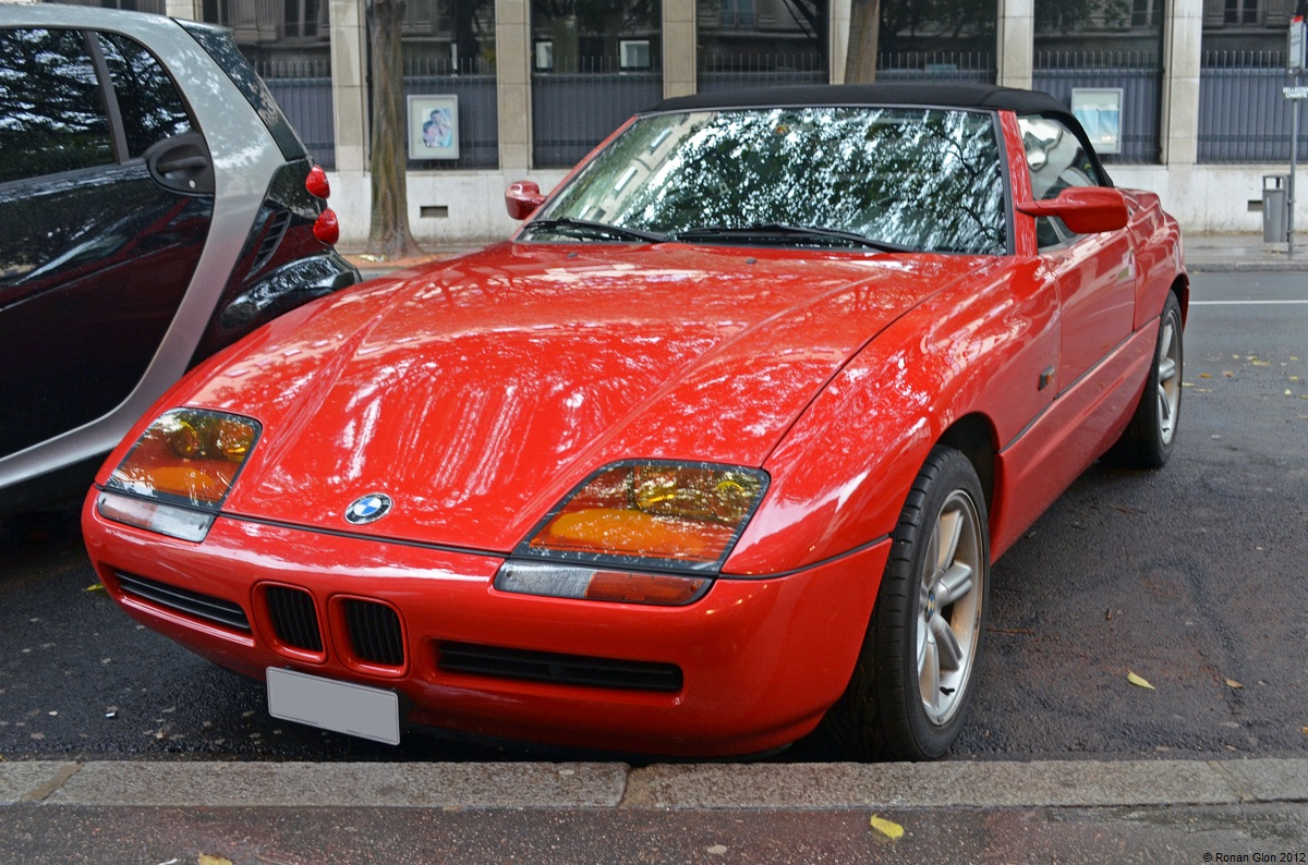 topless and rare bmw z1 ran when parked. Black Bedroom Furniture Sets. Home Design Ideas