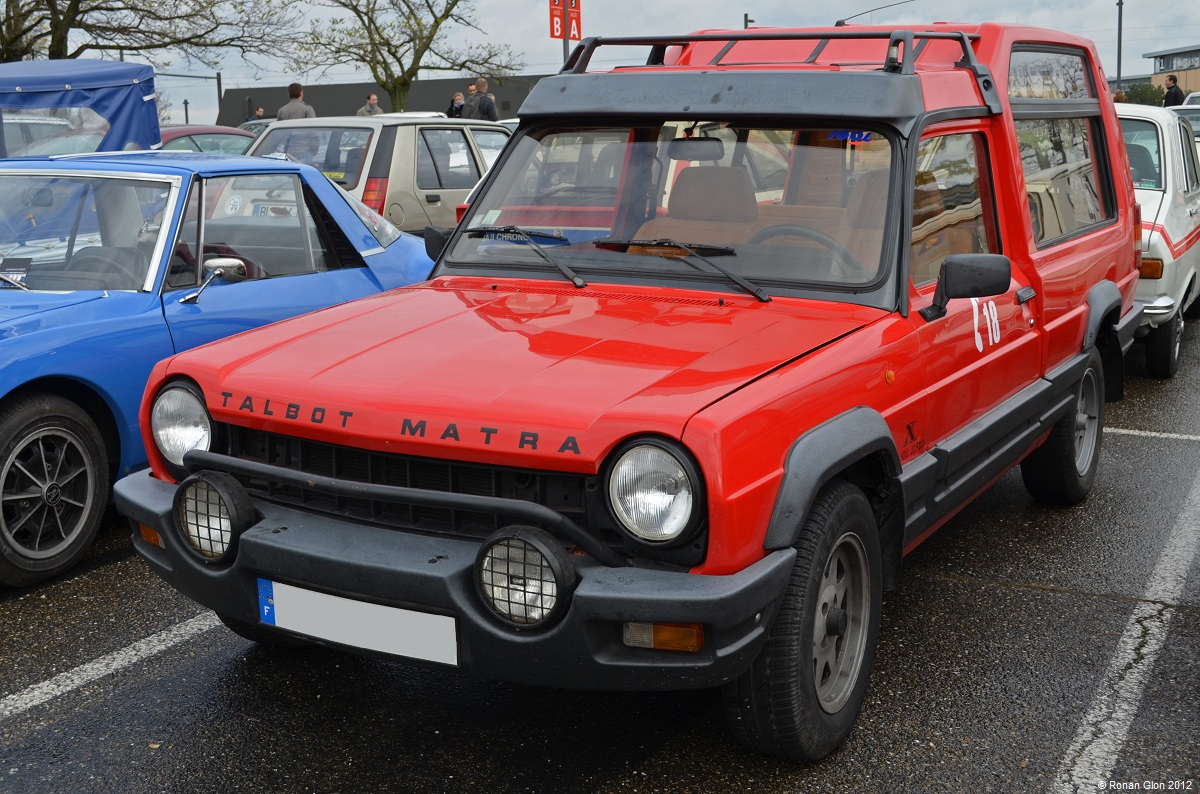 epoqu auto matra rancho x ran when parked