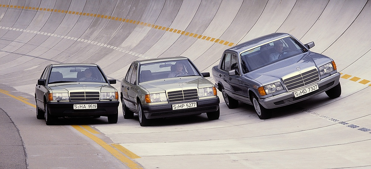 Happy 30th mercedes benz 190 w201 ran when parked for Mercedes benz car history