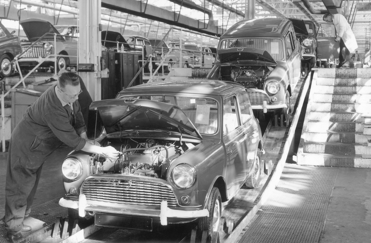 Topical Advertising Assembly Lines Ran When Parked