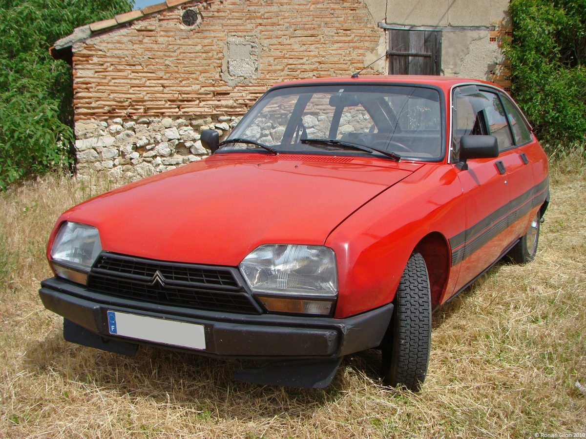citroen gsa 8 ran when parked. Black Bedroom Furniture Sets. Home Design Ideas