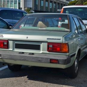 Endangered species: Nissan Datsun Sunny(B11)