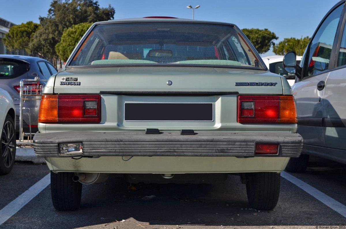 Endangered Species Nissan Datsun Sunny B11 Ran When