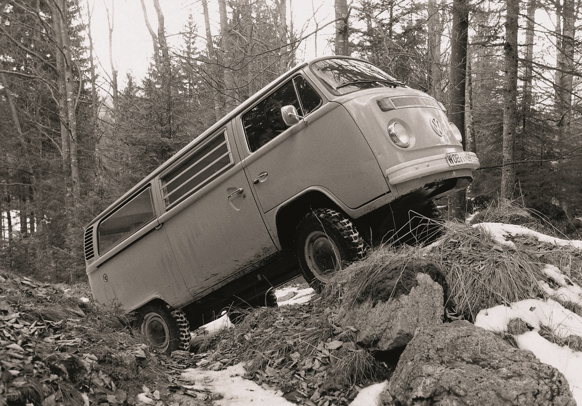 A look at the experital four-wheel drive Volkswagen Bus | Ran ...