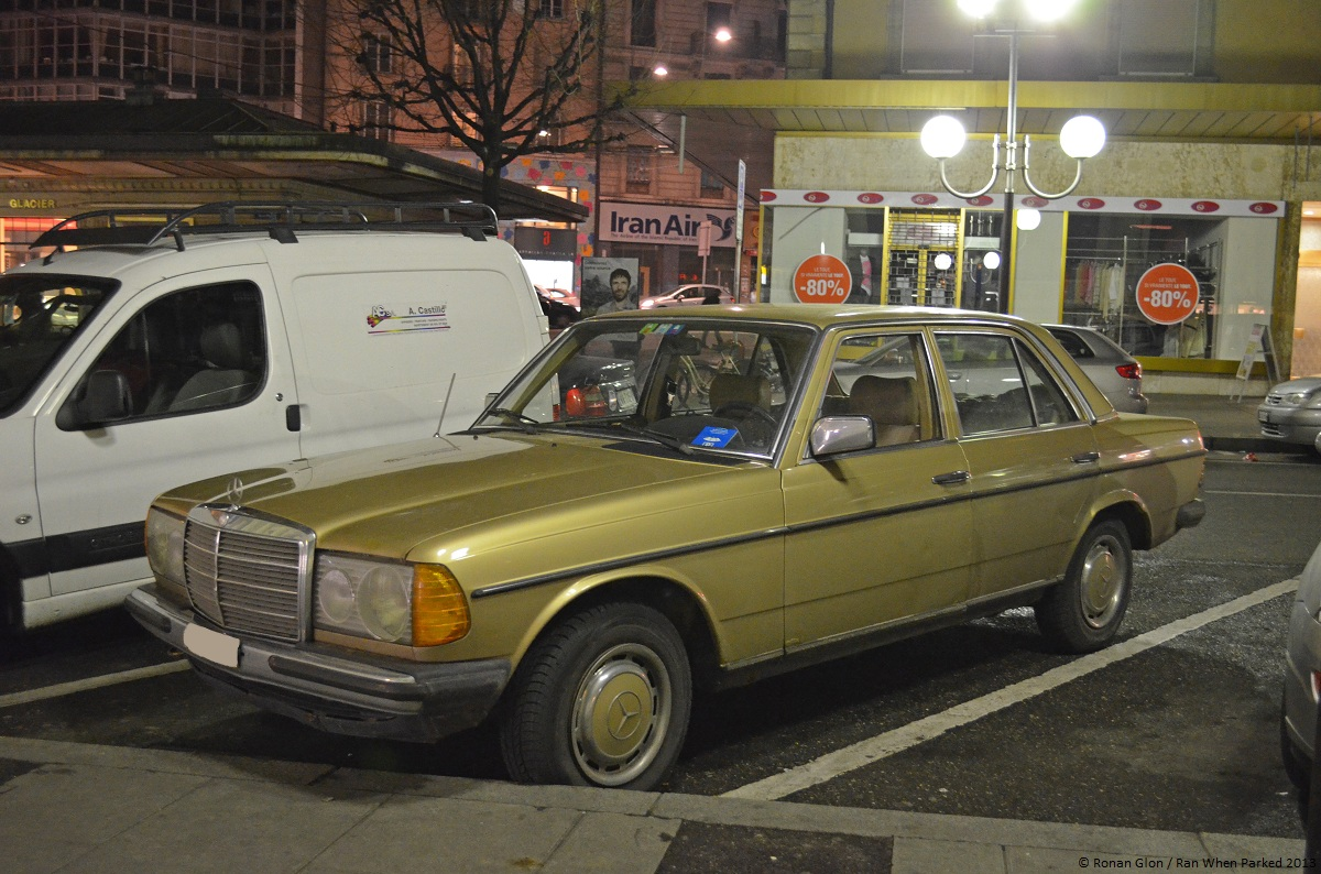 Driven Daily Mercedes Benz 300d W123 Ran When Parked