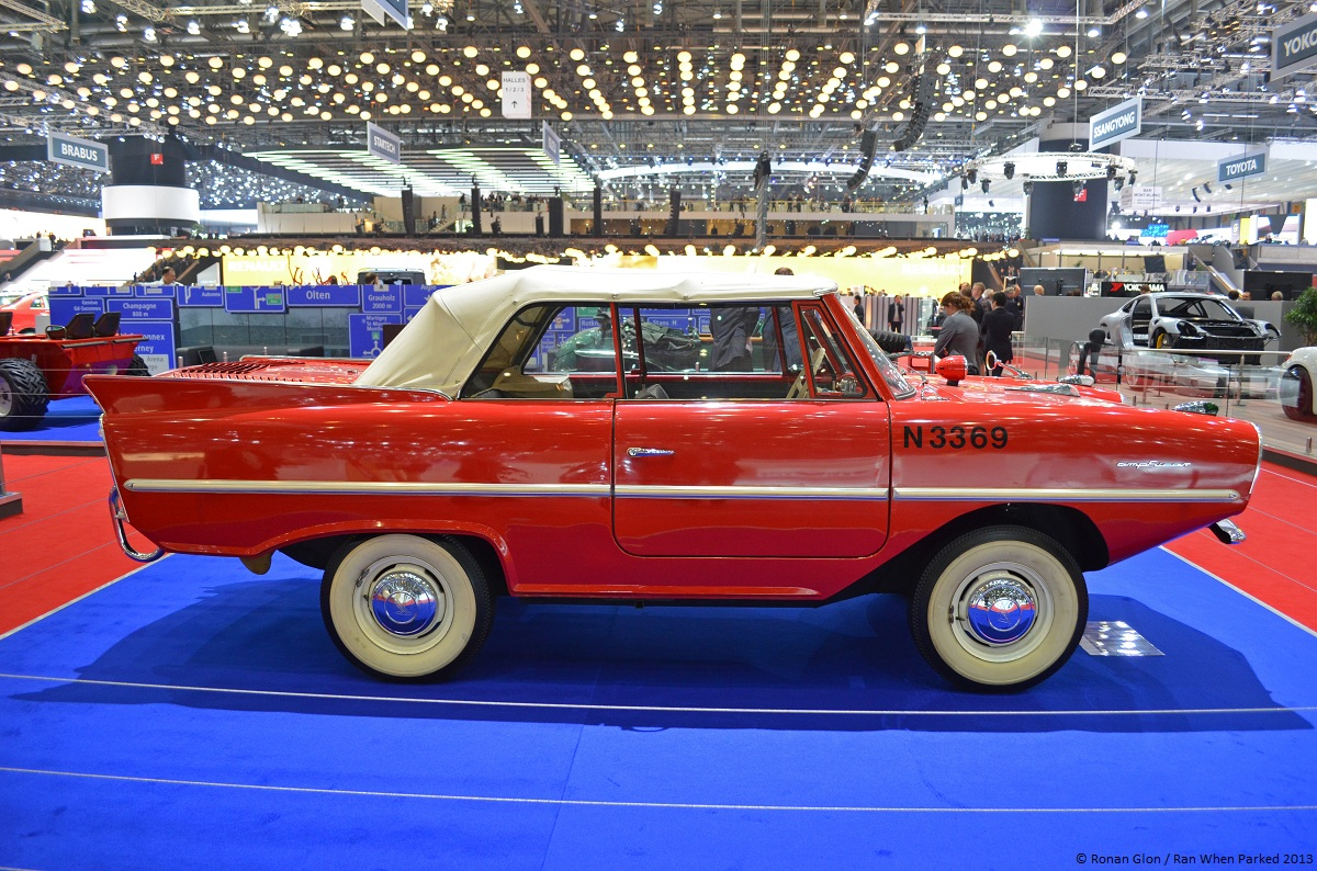 Live From The Geneva Motor Show Amphicar 770 Ran When