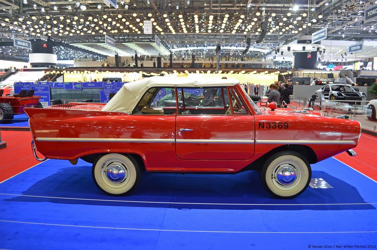 Live From The Geneva Motor Show Amphicar 770 Ran When