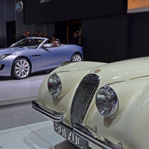 Live from the Geneva Motor Show: Jaguar XK120