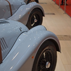 Live from the Geneva Motor Show: The Morgan stand