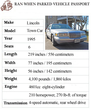 A Leisurely Drive In A 1995 Lincoln Town Car Ran When Parked