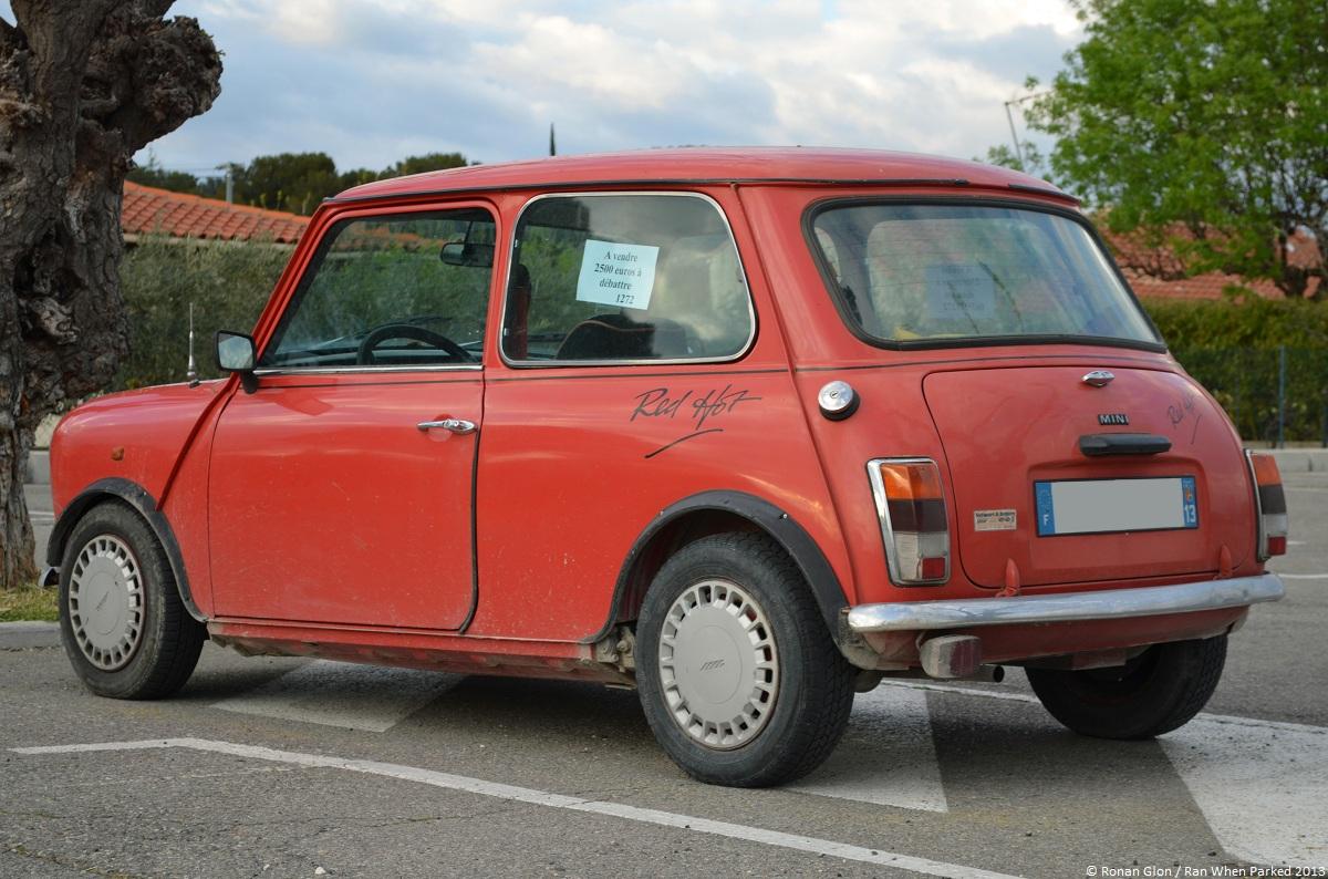 Austin Mini Red Hot 3 Ran When Parked