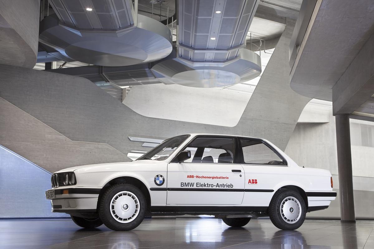 A Look At The Experimental 1987 Bmw 325ix Elektric Ran