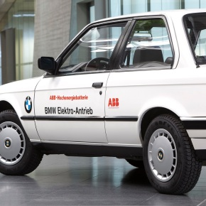 A look at the experimental 1987 BMW 325iX Elektric