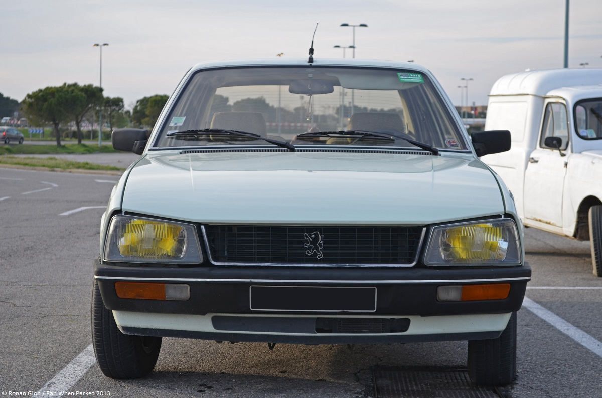 As Clean As They Come Peugeot 505 Ran When Parked