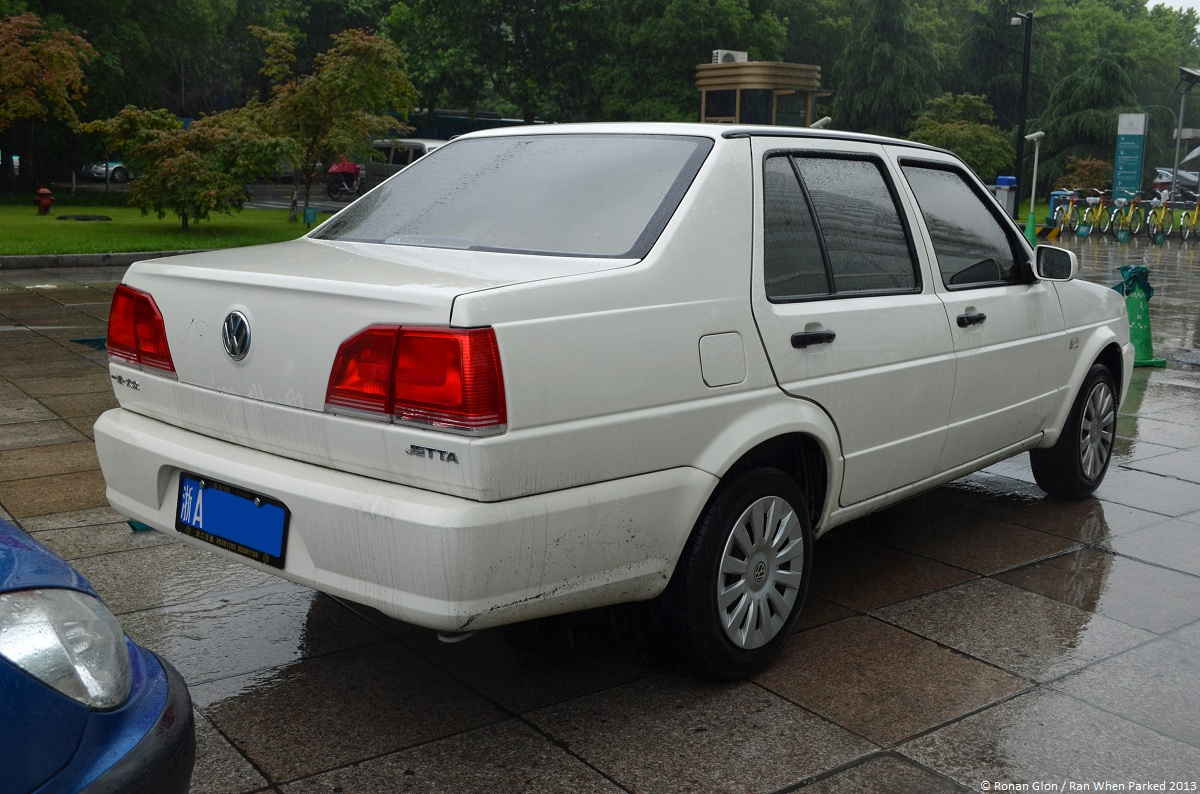 Botoxed in China: Volkswagen Jetta (mk2) | Ran When Parked