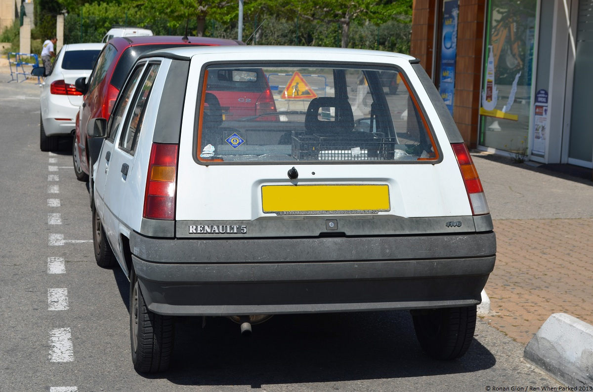 is the renault super 5 a future classic ran when parked. Black Bedroom Furniture Sets. Home Design Ideas