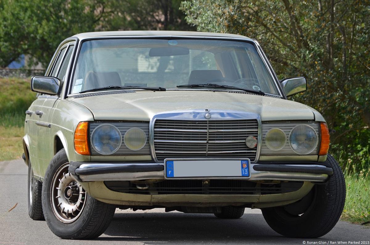 A Quick Drive In A 1981 Mercedes Benz 230e W123 Video