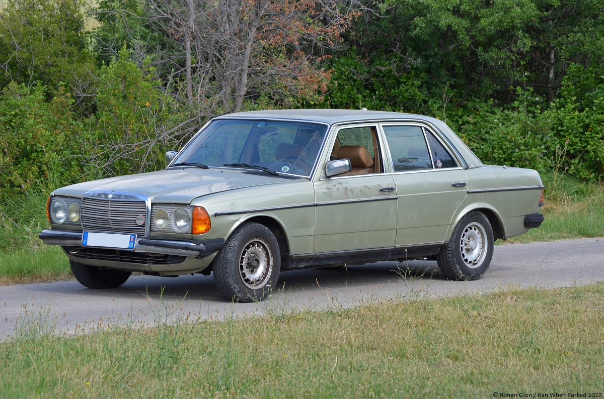 1981 mercedes benz 230e w123 6 ran when parked for Mercedes benz 230e