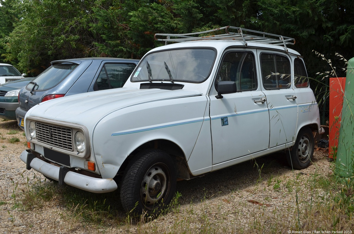 Sunday Classic Renault 4 Carte Jeunes Ran When Parked