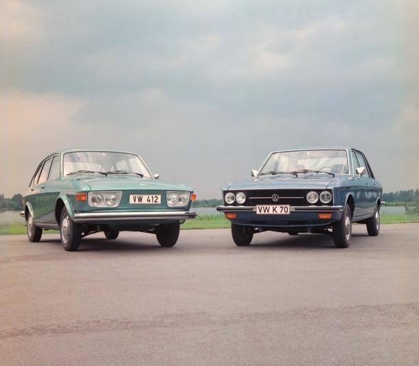 VW 412 und K70