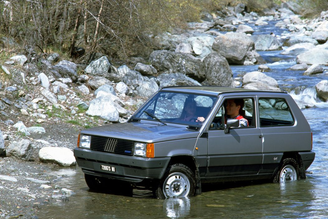 30 years ago fiat launches the panda 4 4 ran when parked. Black Bedroom Furniture Sets. Home Design Ideas