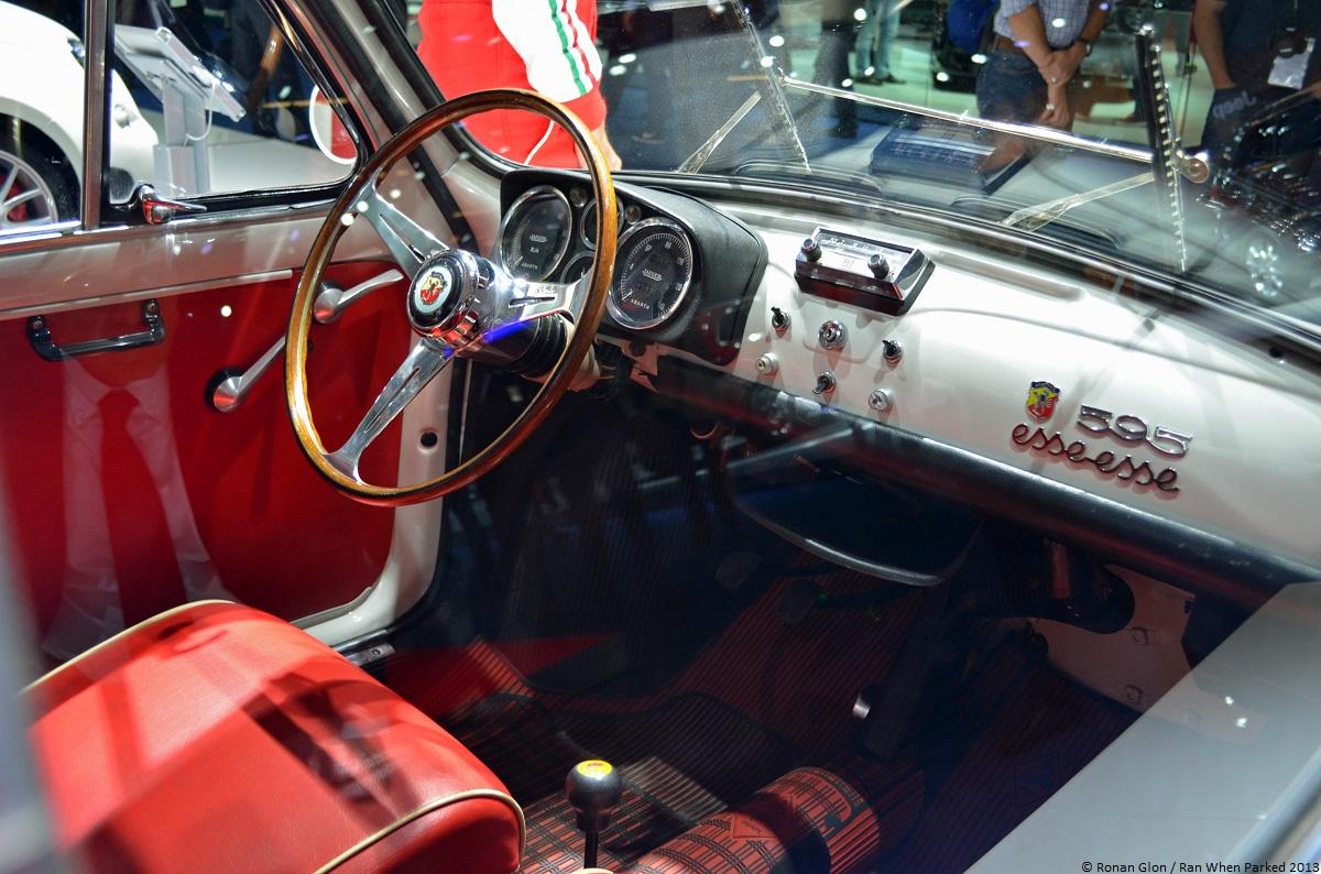 Frankfurt Motor Show Fiat Abarth 595 Ss 15 Ran When Parked