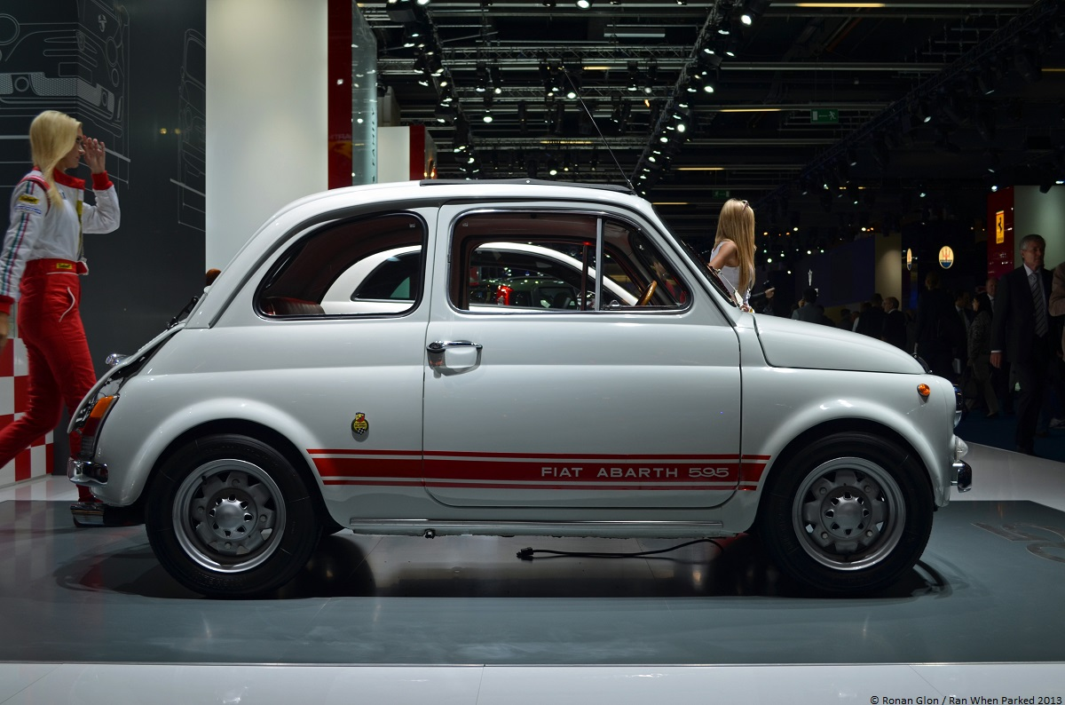frankfurt motor show fiat abarth 595 ss 3 ran when parked. Black Bedroom Furniture Sets. Home Design Ideas