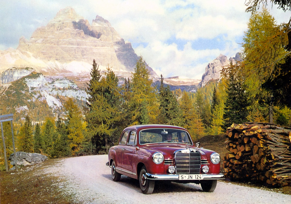 60 Years Ago Mercedes Benz Launches The 180 W120 Ran